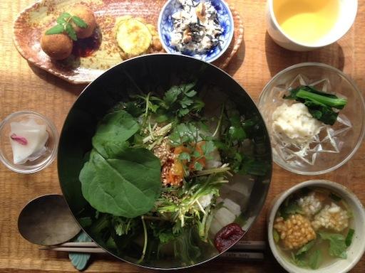 春野菜のビビンパッ