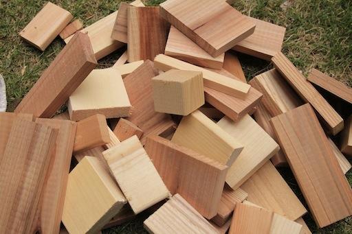 黒板用の木材
