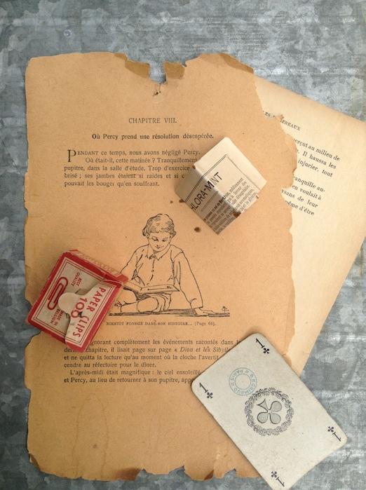 Horta 古い紙モノ①