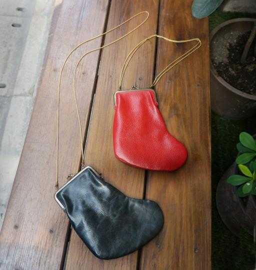 クリスマスの靴下がま口 (2)