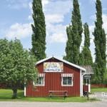 """スウェーデン人の""""心のふるさと""""。ダーラナの小さな村、ダーラフローダ。"""