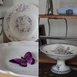 主に19世紀の皿で、形大きさなど様々