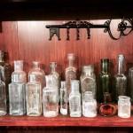 UKヴィンテージのガラス瓶