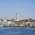 生まれて初めて見たフィンランドの景色。バルト海の乙女、ヘルシンキ。