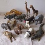 鉛の動物たち