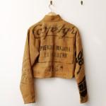 麻のハンドメイドジャケット。見るたびにかっこよさが増す一着