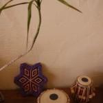 インドの楽器タブラ