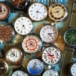 50~90年代までのソ連時代とソ連崩壊直後につくられた手巻き式と自動巻きの腕時計と懐中時計。デザインの素晴らしいものばかり50本ほどお持ちします!ミーシャ・ウォッチもありますよ。