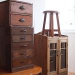 小ぶりな古家具たち/日本のどこかで、誰かの日常を支えてきた古家具たち。今でもじゅうぶん、お役に立てます