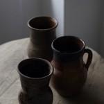 ロシアのミルク壷「ゴルショーク」