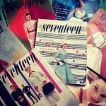 1950年代のseventeenはじめ、魅力的なラインナップの古い洋雑誌も